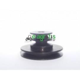 Τροχαλία ίσια άνω - κάτω λούκι 140χ160mm