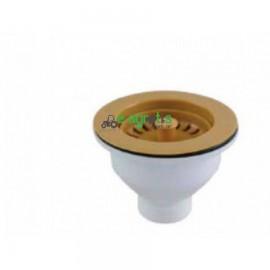 Βαλβίδα γίγας καφέ συνθετικού νεροχύτη
